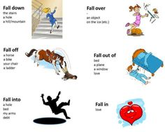 Practicing phrasal verbs should be a good habit of any student. Today it's the verb fall. #english #student #vocabulary