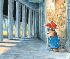 The Paddington Treasury : Six Classic Bedtime Stories by Michael Bond, illustrated by R. Paddington Bear Books, Ours Paddington, Pictures To Draw, Cool Pictures, Greeting Card Companies, Bedtime Reading, Book Illustration, Illustrations, Bedtime Stories