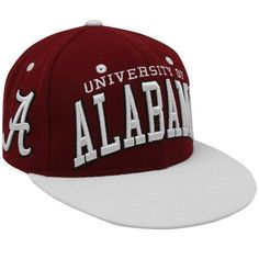 NCAA Zephyr Alabama Crimson Tide Crimson-Cream Superstar Snapback Hat Zepher Graf-X. $21.95