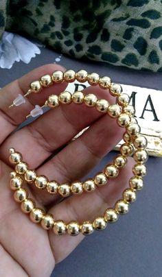 earrings for sorority recruitment Cute Jewelry, Pearl Jewelry, Diy Jewelry, Gold Jewelry, Jewelery, Handmade Jewelry, Jewelry Design, Women Jewelry, Fashion Jewelry