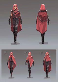 ArtStation - Female spy concept, Adam Lee