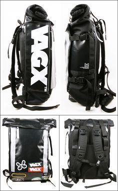 VAGX very cool rigid rolltop Fashion Bags, Fashion Backpack, Unique Backpacks, Tactical Bag, Back Bag, Waterproof Backpack, Designer Backpacks, Tote Handbags, Backpack Bags
