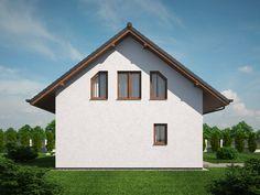 Pavla 9 | Ekonomické stavby Modern House Plans, Pavlova, Home Fashion, Facade, Architecture Design, House Design, How To Plan, House Styles, Home Decor