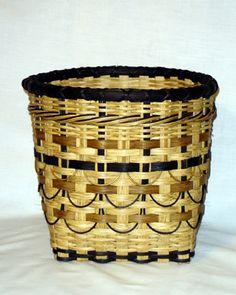 Smokey Wastebasket by Sharon kusemann
