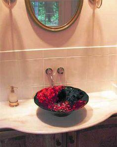 Mesmerizing Blown Glass Art Chandeliers, Hand Blown Urns, Glass Flower Wall  Art, U0026 Glass Sinks From Internationally Recognized Glass Artist ~White Elk