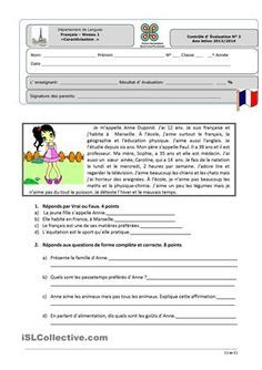 One-click print document French Adjectives, French Verbs, French Grammar, French Language Lessons, French Language Learning, French Lessons, French Flashcards, French Worksheets, French Teacher