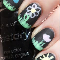 These chalk nails are just ADORABLE and are sure to be a huge trend. This design would look fab on our Active-length custom-fit nails! You can win a set by RSVPing to the Custom Nail Solutions Facebook June GIVEAWAY at http://www.facebook.com/events/120078404796629/ and by following on Twitter at https://twitter.com/#!/customnails and tweeting:    RT this and follow @customnails to #win 1 Impression System & 1 Set of Custom-Fit nails! #CNSgiveaway    Hurry, the contest ends June 30!