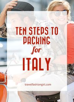10 Step Packing Guide for Italy Planning a trip to Italy? Check out our ten step packing guide! Pack like a pro and learn what to pack year round (and what shoes to wear and AVOID)! Italy Packing List, Italy Travel Tips, Travel And Tourism, Italy In September, Italy Tourism, Italy Summer, Italy Vacation, Italy Trip, Italy Italy