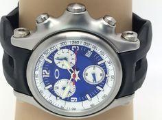Oakley Holeshot Men's Watch 10-218 Swiss Chronograph Rubber Band (N892) #Oakley