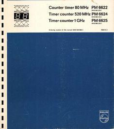 Service and User Manual - Philips PM 6624 - Counter Old Record Player, Harman Kardon, Repair Manuals, Counter, Free