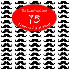 Hey, I found this really awesome Etsy listing at http://www.etsy.com/listing/152619591/75-2-inch-mustache-stickers-envelope