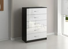 2341-birlea-lynx-black-with-white-gloss-5-drawer-chest-of-drawers.jpg (750×535)