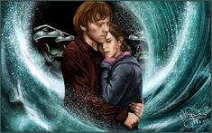 ron weasley and hermione granger | Ron and Hermione - Ronald Weasley Fan Art (25135451) - Fanpop fanclubs