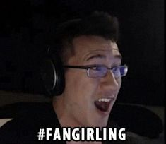 I might be a fangirl now. Damn your German/Korean handsomeness, Markiplier.