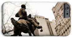 Jose Marti equestrian statue and the Ritz-Carlton vintage look iPhone and Samsung case by RicardMN Photography.  Protect your iPhone 6 with an impact-resistant, slim-profile, hard-shell case.  The image gets printed directly onto the case and wrapped around the edges for a beautiful presentation.  Simply snap the case onto your iPhone 6 for instant protection and direct access to all of the phones features.