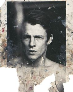 Photograph of Peter Beard taken by Francis Bacon for a series of paintings