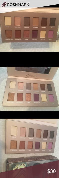BH Gorgeous Eyeshadow Palette Plus Ecotools Brushe Brand new gorgeous palette, never used/swatched.  It will come with brand new brushes from EcoTools, with pouch. BH Cosmetics Makeup Eyeshadow
