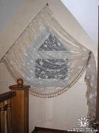 Картинки по запросу шторы на треугольные окна