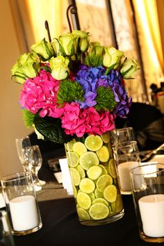 The bright colors and limes are so fun!
