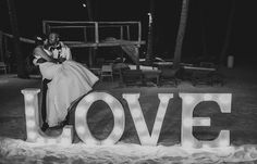 Melissa & Edwin's destination wedding in Punta Cana! Punta Cana destination wedding, beach wedding in Punta Cana @destweds