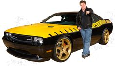 Chip and the WD-40 SEMA Cares Challenger