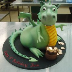 Puff the Magic Dragon!  Cakes By Eve