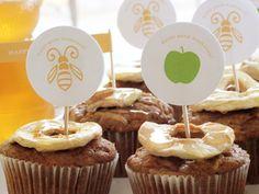 Rosh Hashanah Cupcakes