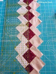 Me encanta el patchwork seminole y no es la primera vez que hago alguna cosa con esta técnica.   Si queréis podéis ver AQUÍ  el camino de...