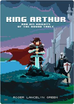 King Arthur scene Pixel Art Heaps Cool! ( ̄^ ̄)ゞ (Artist Salute)