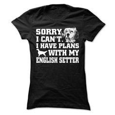English Setter T Shirts, Hoodies. Check Price ==► https://www.sunfrog.com/Pets/English-Setter-62594580-Ladies.html?41382