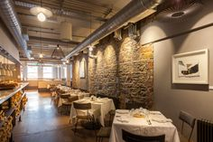 Restaurant at Rachel's Cork. Lighting by Willie Duggan. Cork Lighting, Lighting Design, Conference Room, Restaurant, Table, Furniture, Home Decor, Light Design, Decoration Home