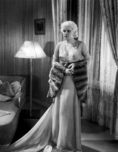"Suppressed image of Jean Harlow from the Pre-Code Drama ""Iron Man"" for two very obvious reasons. Old Hollywood Movies, Old Hollywood Glamour, Golden Age Of Hollywood, Vintage Hollywood, Classic Hollywood, Hollywood Stars, Hollywood Actresses, Jean Harlow, Mae West"