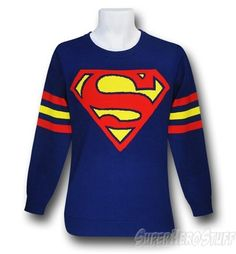superman long sleeved shirt