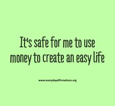 Affirmations for Money, Affirmations for Attracting Money, Money Affirmations, Affirmations for Prosperity, Affirmations for Abundance Positive Life, Positive Thoughts, Positive Quotes, Mantra, Quotes Thoughts, Life Quotes Love, Change Quotes, Woman Quotes, Morning Affirmations