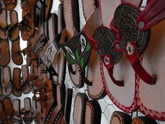 Mexican flip flops.