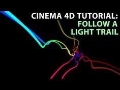 Cinema 4D Tutorial: Follow a Light Trail - YouTube