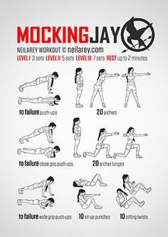 Pretty neat Mockingjay workout