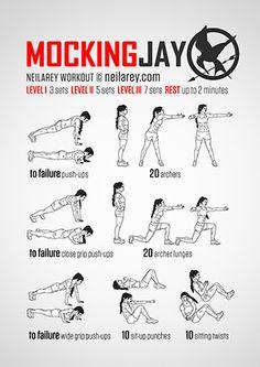Pretty neat Mockingjay workout
