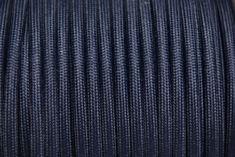Sötétkék textilkábel