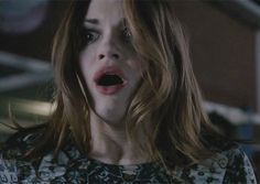 Lydia's reaction to Aiden passing away.