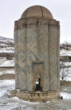 Qarabağlar sight - Mausoleum near the village Karabağlar