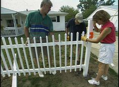 Learn how to build a fence with maintenance-free PVC fencing.