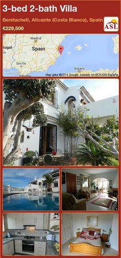 3-bed 2-bath Villa in Benitachell, Alicante (Costa Blanca), Spain ►€229,500 #PropertyForSaleInSpain