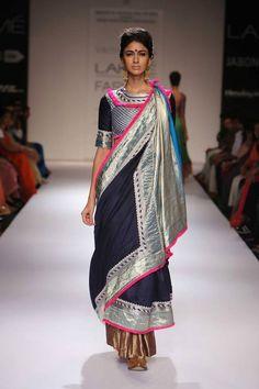 DAY 2 - Vaishali S at Lakme Fashion Week 2014