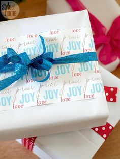 Creative wrapping - 9 fun and stress-free holiday decorating tips