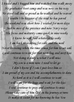 us navy mom poem  So proud