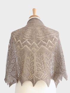 Cotton & Cloud - Prairie Shawl | Original Knitting Patterns | Half-circular Shawl