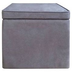 Room Essentials™ Cube Storage Ottoman - Light Blue : Target