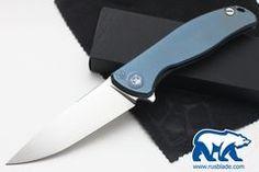 Shirogorov Flipper 95 S30V Blue Anod
