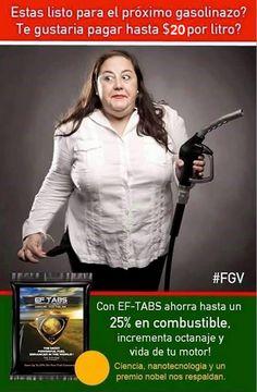 Ef-tabs ahorra gasolina